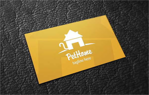 Pet Home Business Card Template