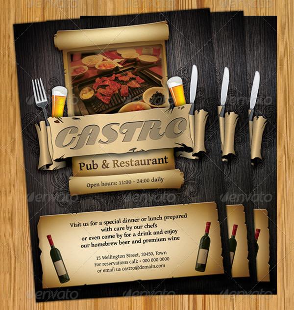 Restaurant & Bar Flyers