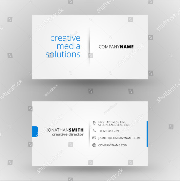 Vector Design Global Business Card Template