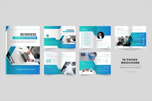10 Pages Brochure Design Free Download