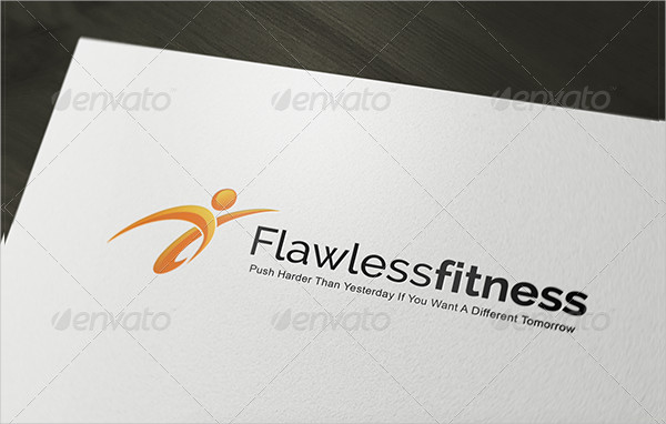 Flawless Fitness Logo Template