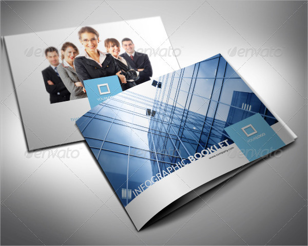 Clean Infographic Booklet or Brochure Template