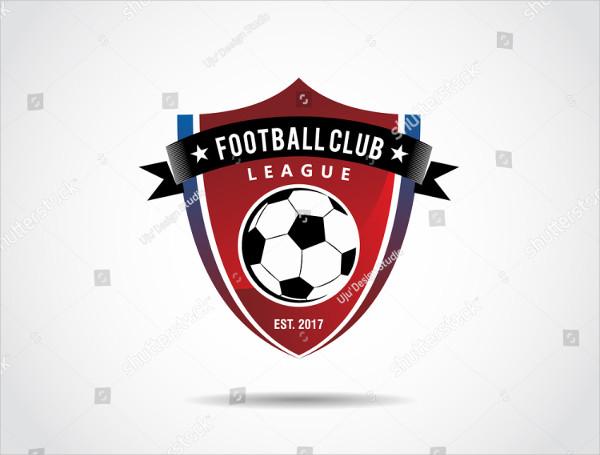 Isolated Football Club Logo