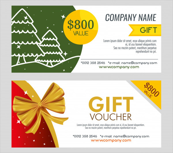 Pair of Christmas Gift Coupon Free