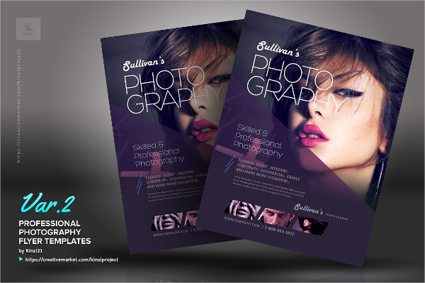 Professional Photography Flyer Templates