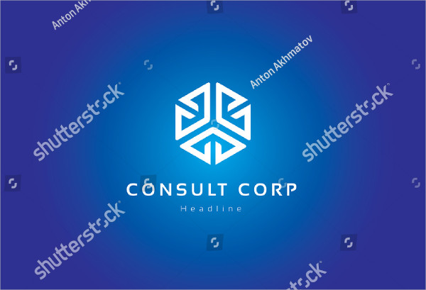Consult Corporation Logo Template