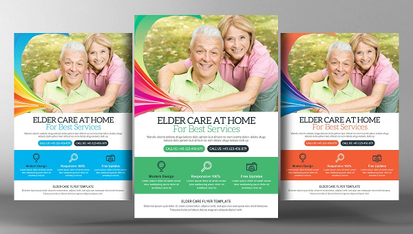 Elderly Care Flyer