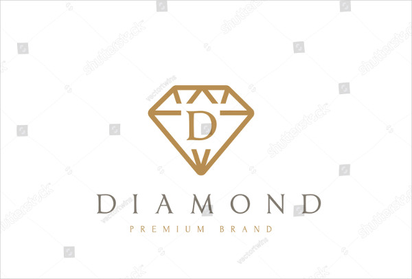 Awesome Diamond Logo Template