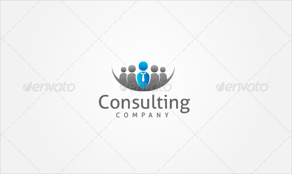 Finance Consulting Company Logo Template