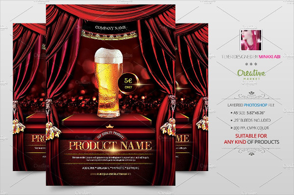 Product Showcase Flyer Template