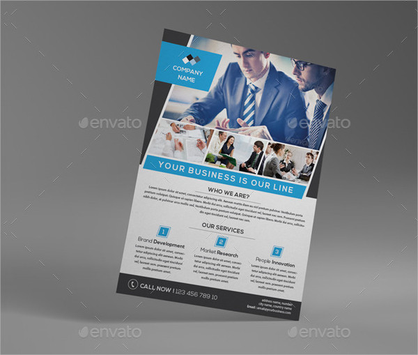 Universal Consulting Business Flyer Template