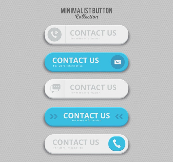 Minimalist Contact Buttons Free Download