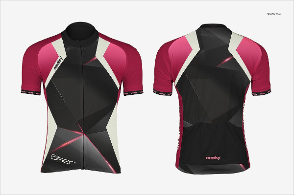 Best Bike Jersey Mockups Set