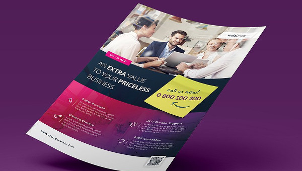 Business Consulting Flyer Templates