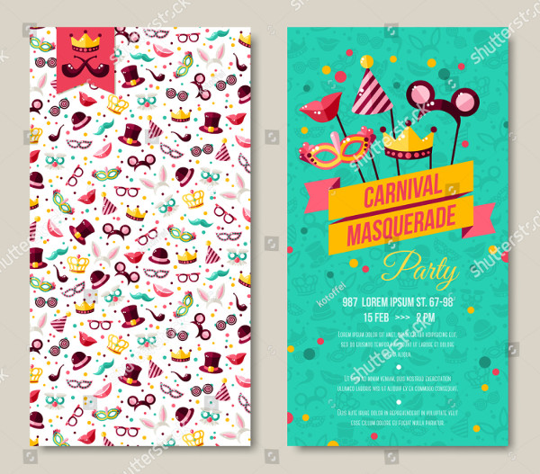 Carnival Flyer or Invitation Design