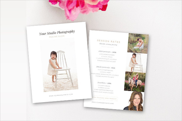 Pricing Guide Templates for Photographers