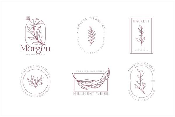 Flower Brand Logo Set Free