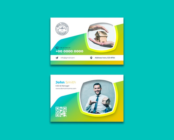 Free PSD Real Estate Business Cards Download