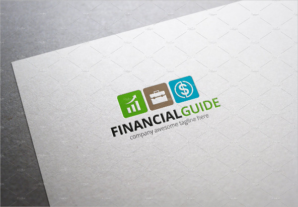 Fully Editable Financial Guide Logo Template