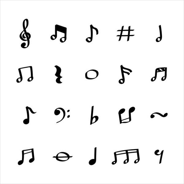 Illustration Set of Music Instruments Free