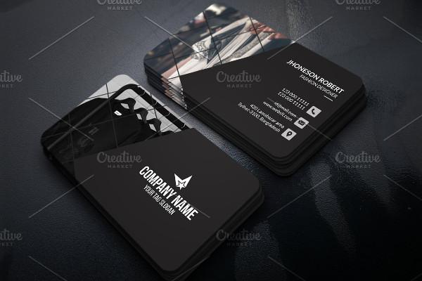 Modern Fashion Business Card PSD