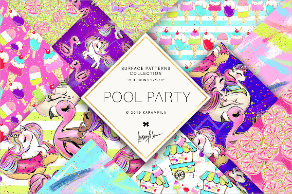 Pool Party Pattern