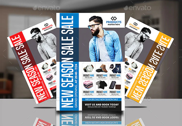 Product Promotion Flyer Design