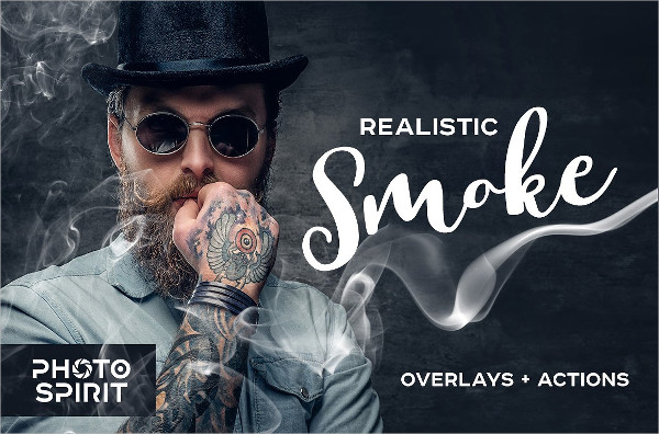Realistic Smoke Overlays Photoshop Actions