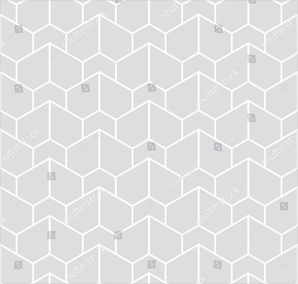 Abstract Geometric Pattern with Stripes