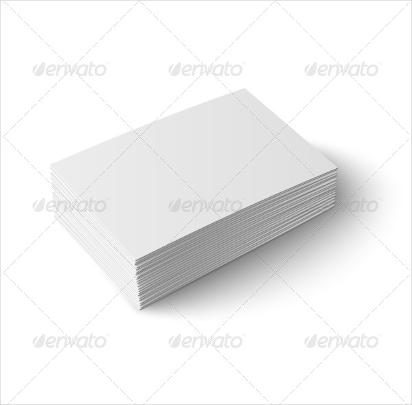 Perfect Set of Blank Business Cards