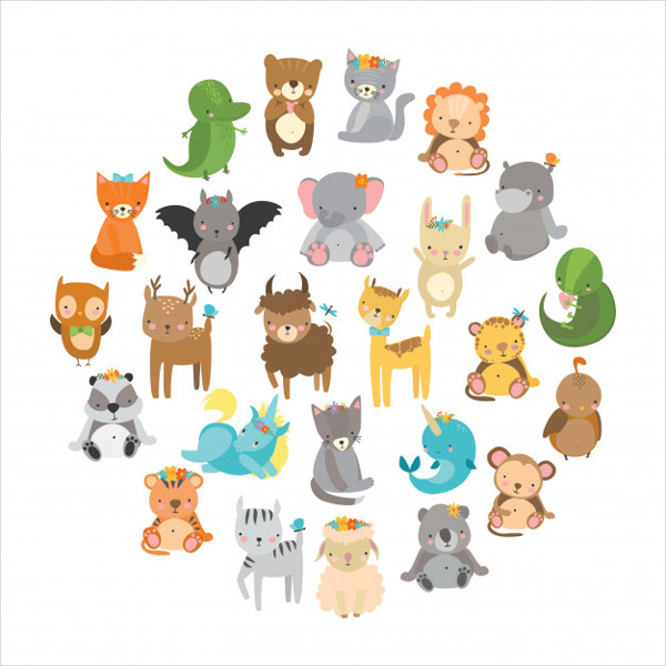 Cute Zoo Animals Free Download
