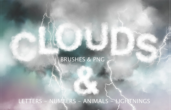 Cloud PS Brushes & Graphics