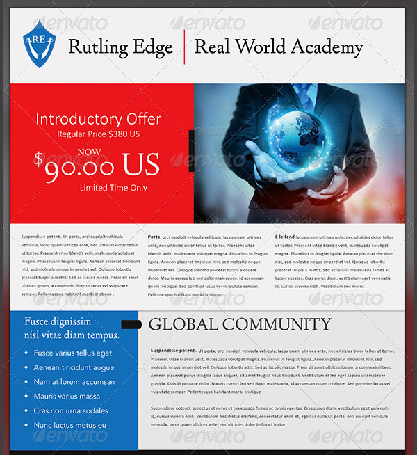 Corporate Training Flyer Template