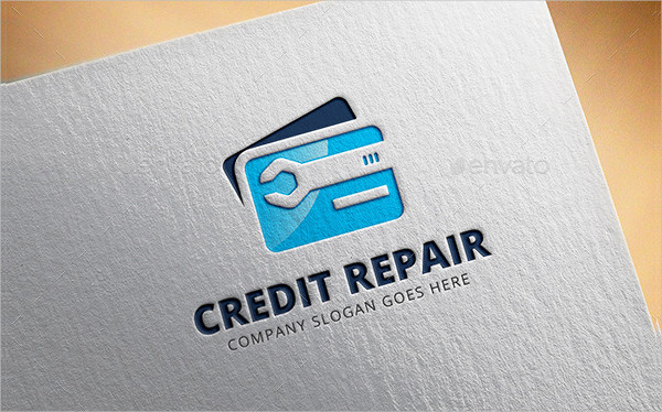 Credit Card Service Logo Design