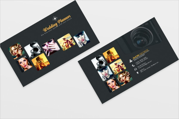 Custom Photography Business Cards