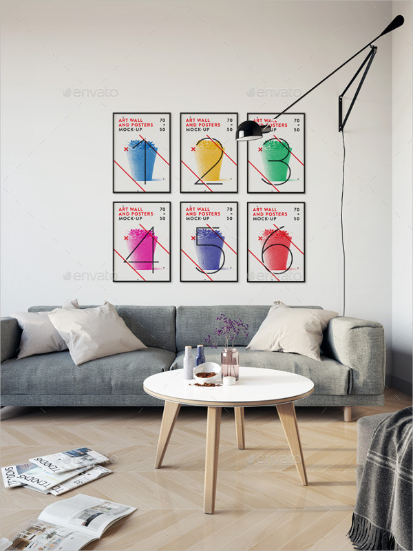 Elegant Art Wall and Poster Mock-Up
