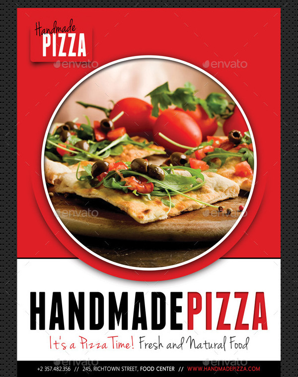 Pizza & Food Poster Template