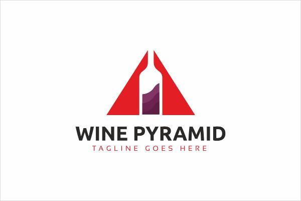 Fully Editable Wine Logo Vector