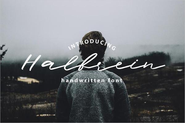 Halbrein Font Free Download