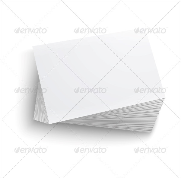 Multipurpose Blank Business Cards Pack