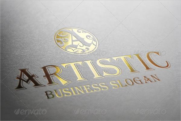 Monogram Artistic Logo Letter