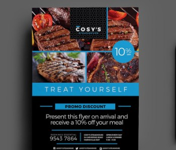 Restaurant Flyer Templates