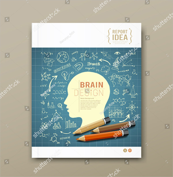 Colorful Magazine Cover Template