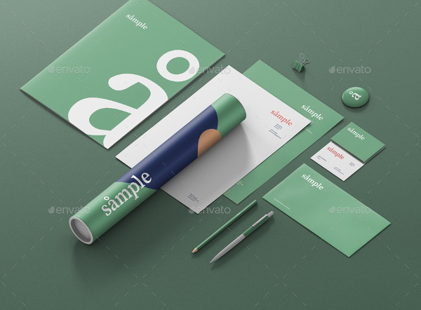 Advanced Stationery Branding Mockup Creator