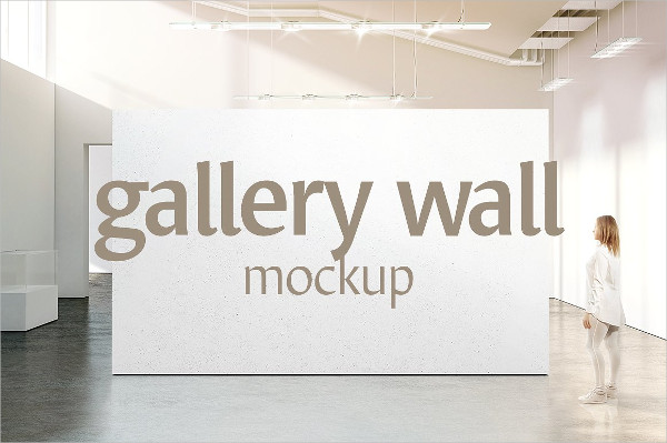 Clean Gallery Wall Mockups