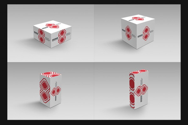 Cool PSD Package Box Mockups