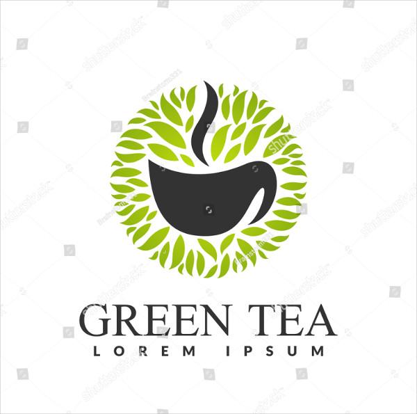 Green Tea Herbal Logo