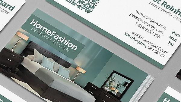 business card design for interior designers