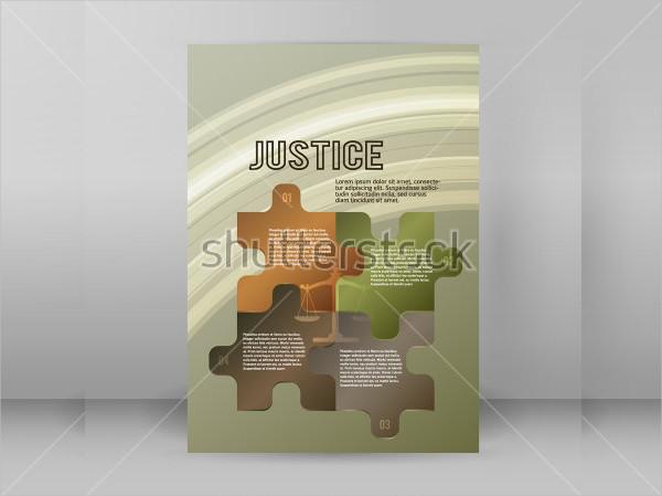 Modern Legal & Law Firm Flyer Design
