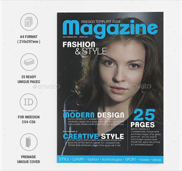 Fashion & Style Universal Magazine Design
